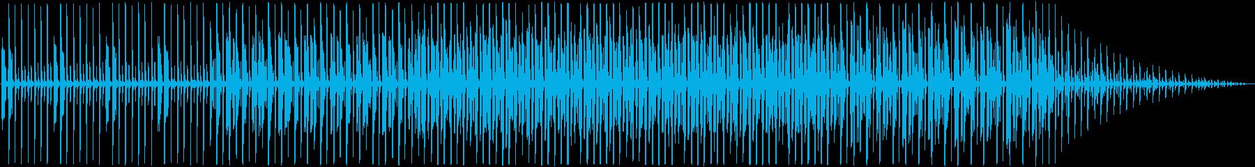 プログレッシブハウス。インディー。の再生済みの波形