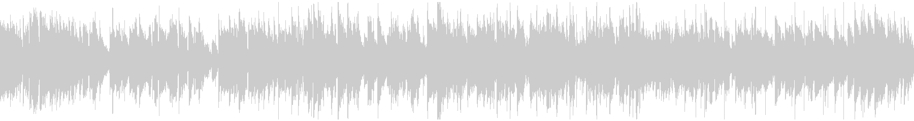知性的で上品なジャズワルツ ※ループ版の未再生の波形