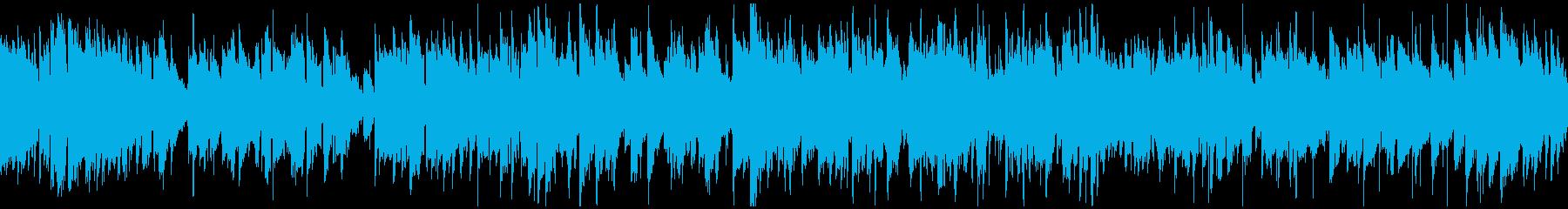 知性的で上品なジャズワルツ ※ループ版の再生済みの波形