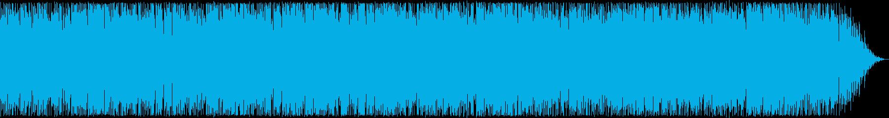 お洒落なトランペットシンセサウンドの再生済みの波形