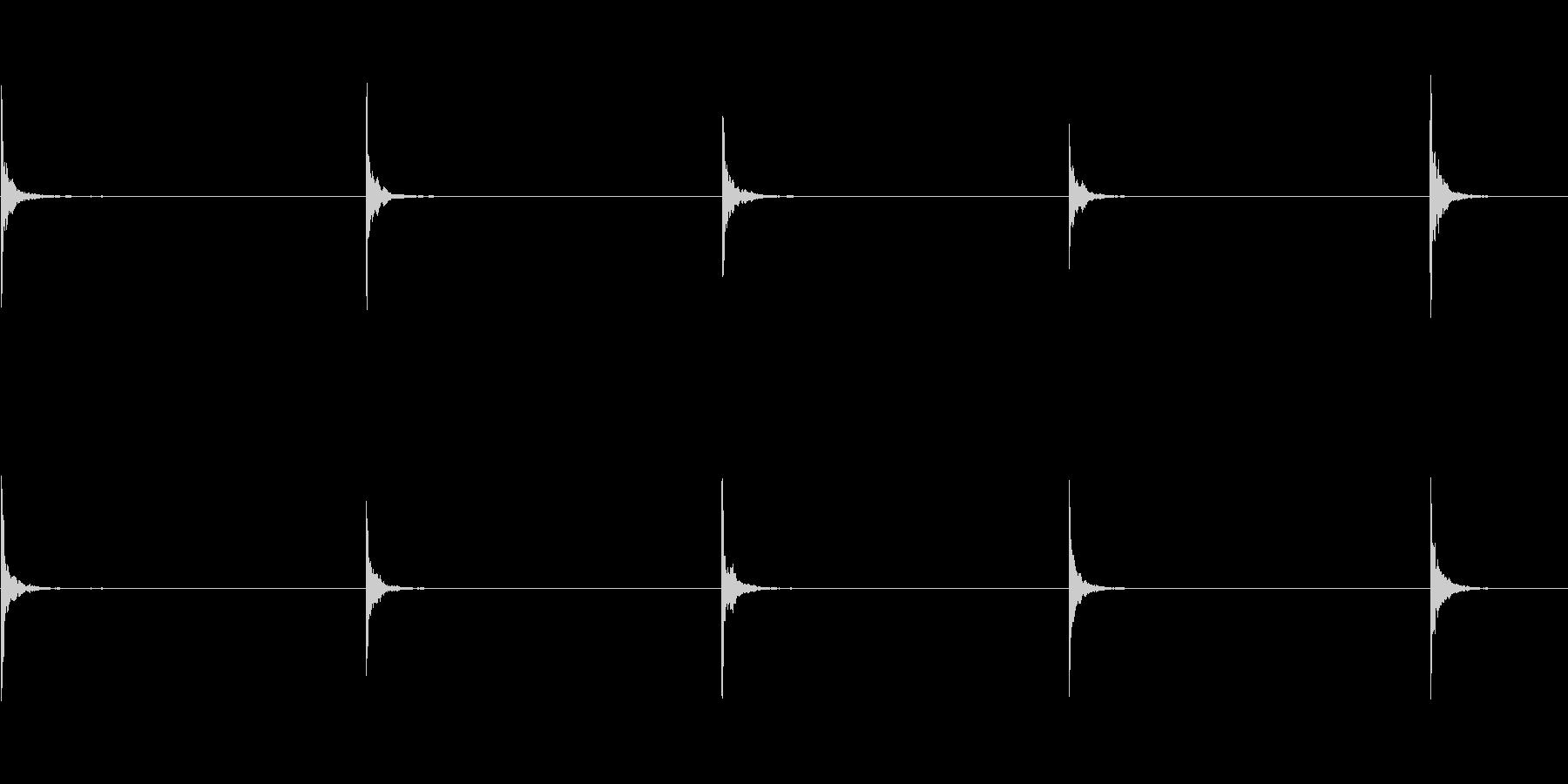 テンプルブロック:シングルヒット、...の未再生の波形