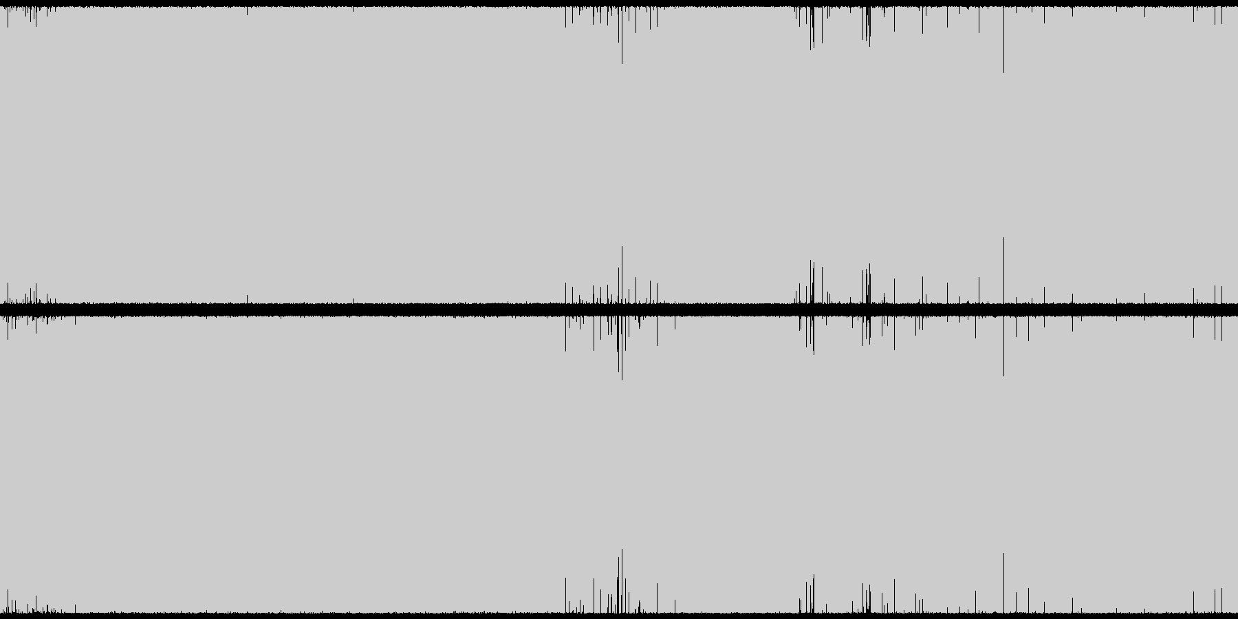 戦闘シーンに適したトランス・EDMループの未再生の波形