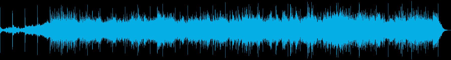 幻想的で可愛いアンビエントの再生済みの波形