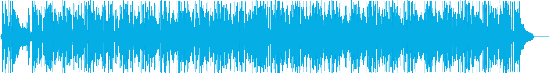 明るく爽やかなボサノバ調のBGMの再生済みの波形