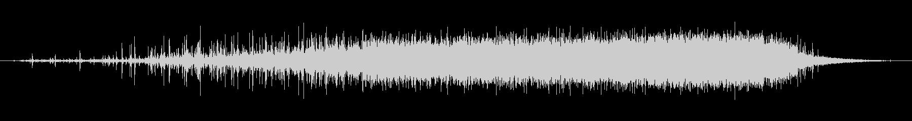 素材 レインスティックシングル02の未再生の波形