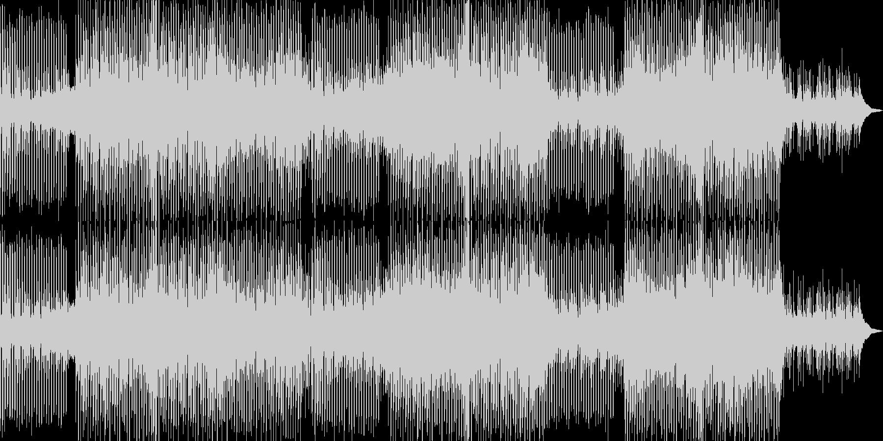 若々しい/若いサウンドのメロディッ...の未再生の波形
