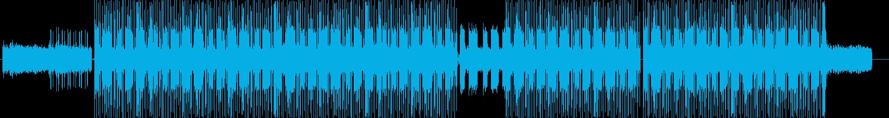洋楽、チルアウトダークなヒップホップの再生済みの波形