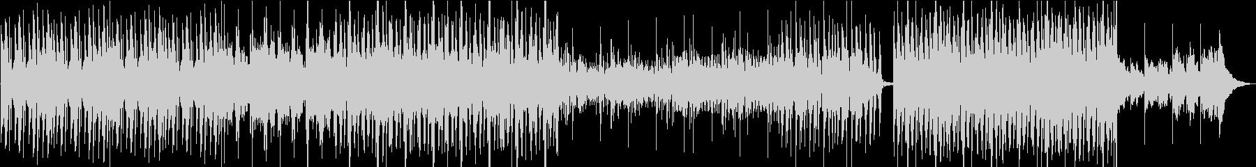 ピアノを使ったサスペンスBGMの未再生の波形