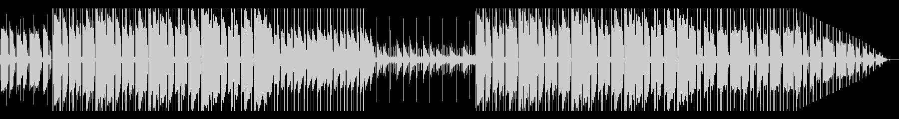 ローファイ ヒップホップ ギター ピアノの未再生の波形