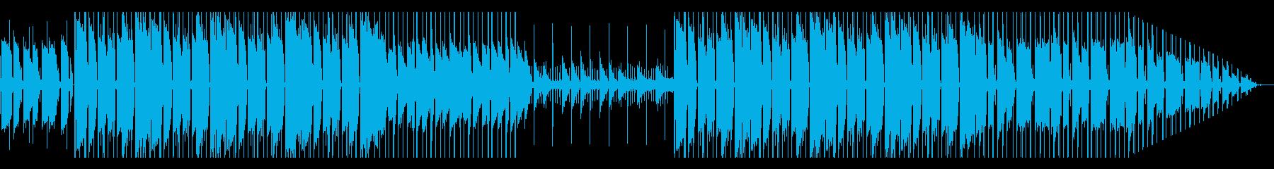 ローファイ ヒップホップ ギター ピアノの再生済みの波形