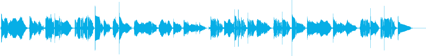 大人っぽいアラビアンなジャズの再生済みの波形