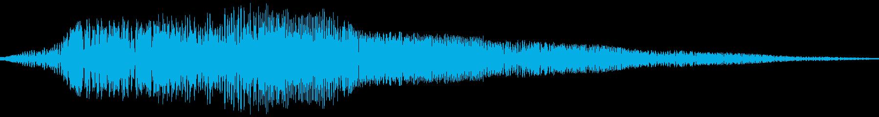 AMGアナログFX 8の再生済みの波形