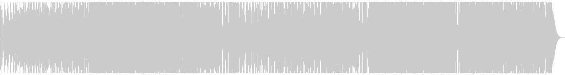 アッパーな哀愁系のピアノハウス。の未再生の波形
