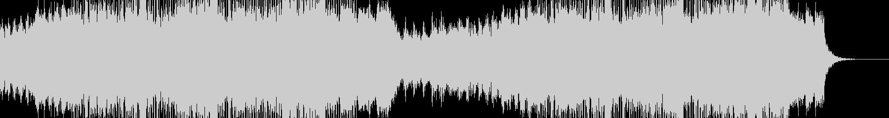 ダークな近未来をイメージしたエレクトロの未再生の波形