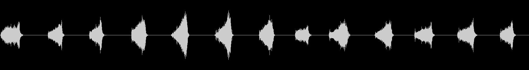 ストローブルーム:ウッドフロアクリ...の未再生の波形