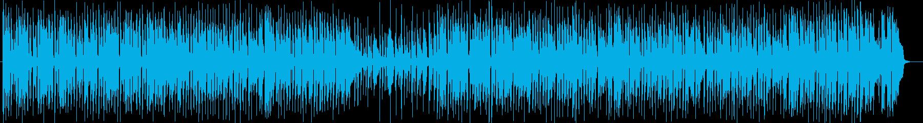 おしゃれで楽しげな管楽器シンセサウンドの再生済みの波形
