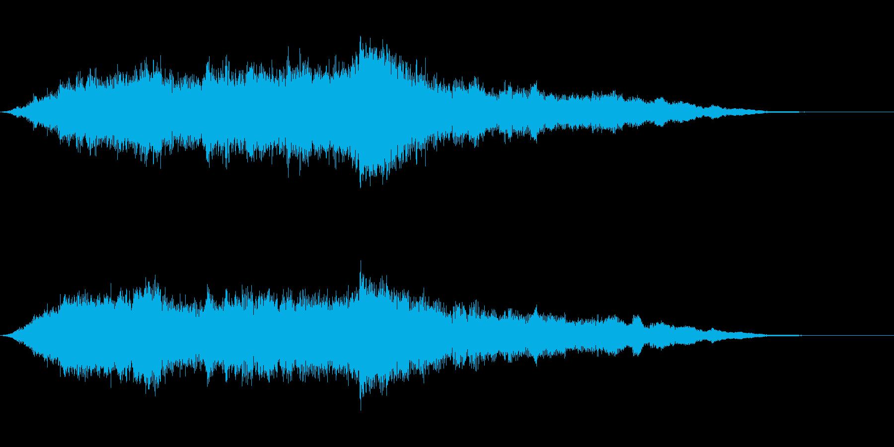 バングではないの再生済みの波形