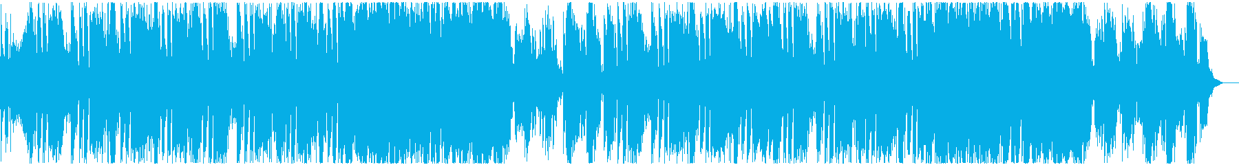 車のCMで流れる様なパワフルな曲の再生済みの波形
