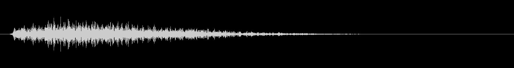 機械音・物音(ガタン)の未再生の波形