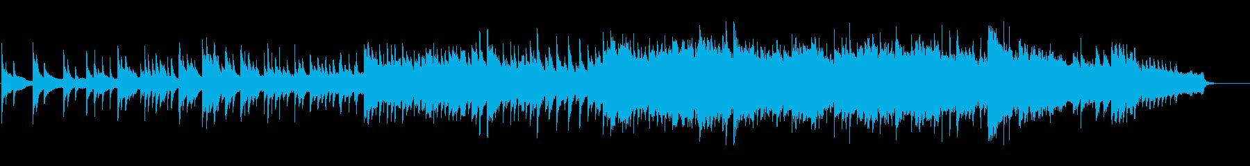 ★ドラマ・CM等★優しいピアノバラードの再生済みの波形