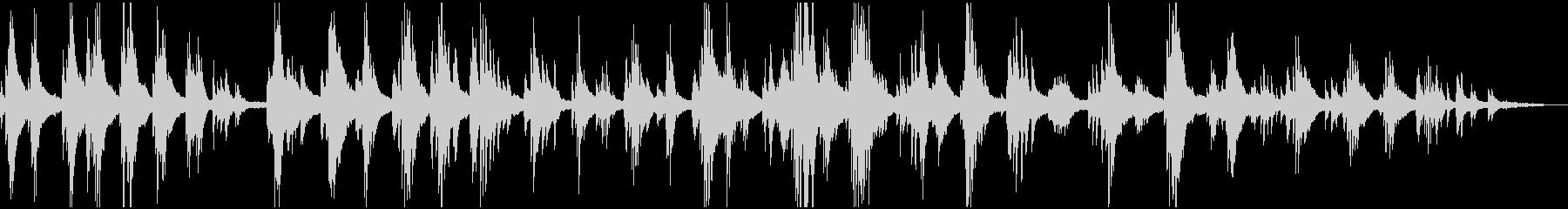 アンビエント・叙情的・風景 ピアノソロの未再生の波形