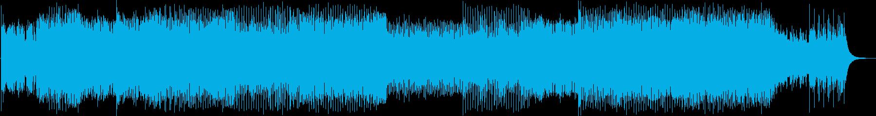 アニメ・ゲーム的なカッコいいロック・EDの再生済みの波形