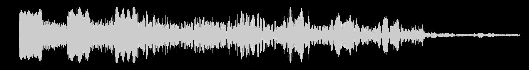 パッド 特撮ダークプラネット02の未再生の波形
