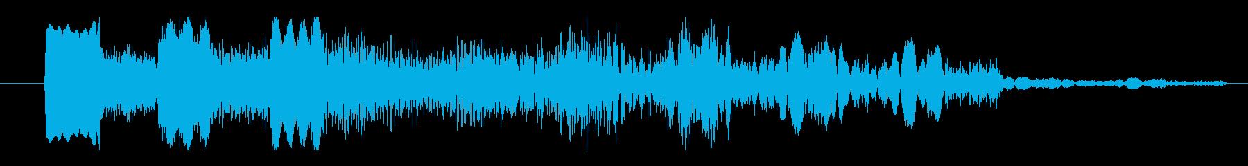 パッド 特撮ダークプラネット02の再生済みの波形