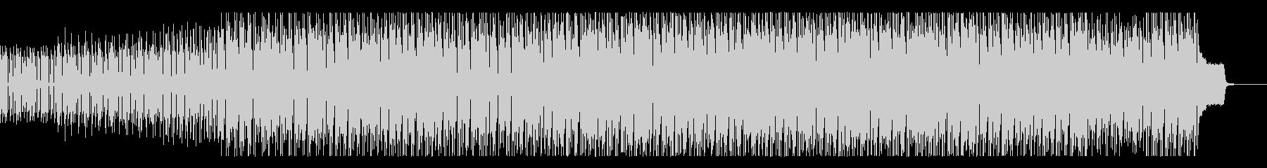 ジャングルのマイナスイオンを感じる曲の未再生の波形