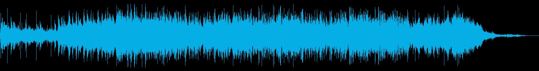 グリッチでなアンビエントIDMの再生済みの波形