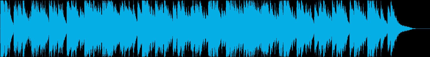 バロック・格調・優雅・明るい・チェンバロの再生済みの波形