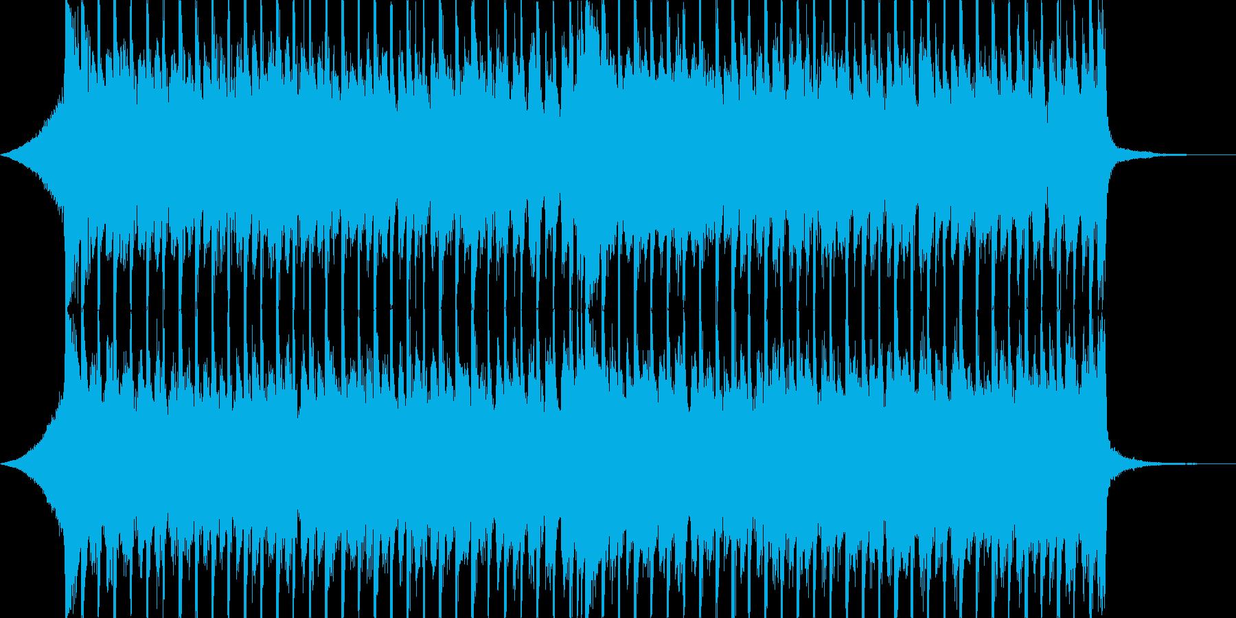 企業VPや映像、ストリングス、元気30秒の再生済みの波形
