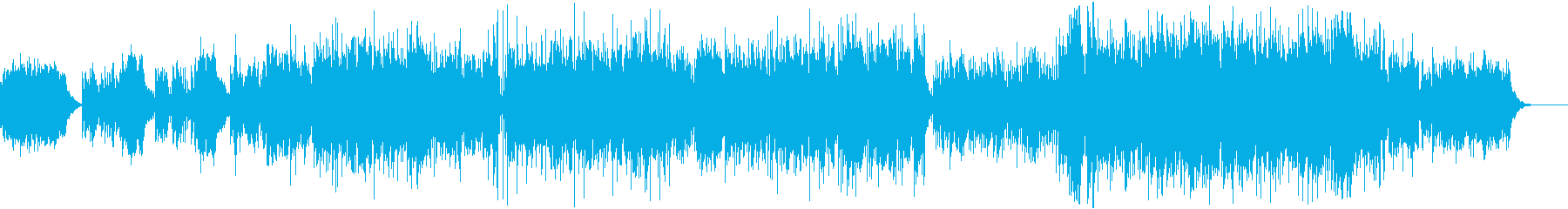 ソロギターによるバラードの再生済みの波形