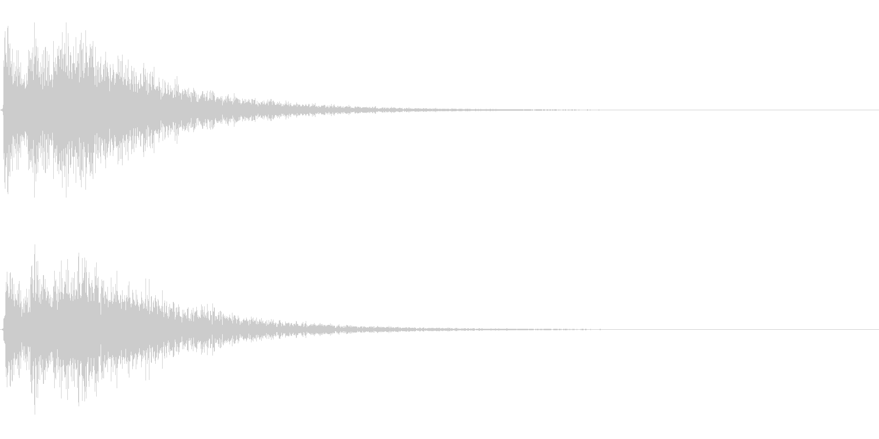 Dark_Attack-33_Delayの未再生の波形