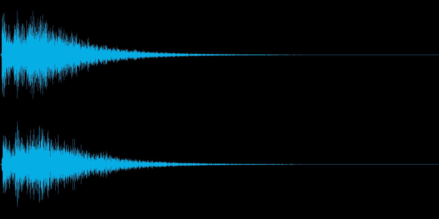 Dark_Attack-33_Delayの再生済みの波形
