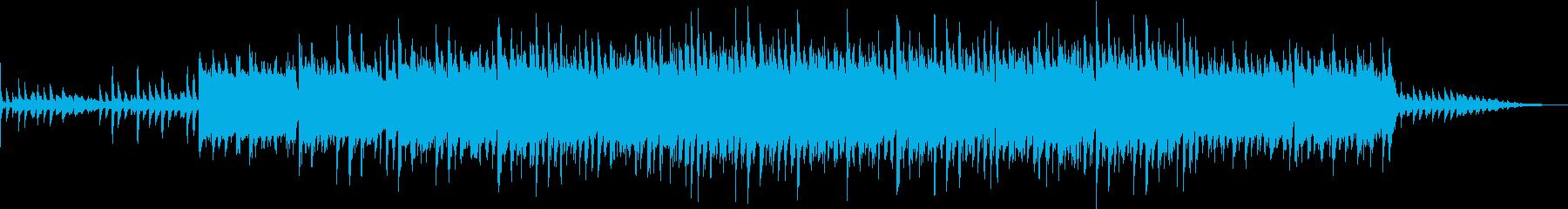 ミドルテンポでメロディアスなテクノPOPの再生済みの波形