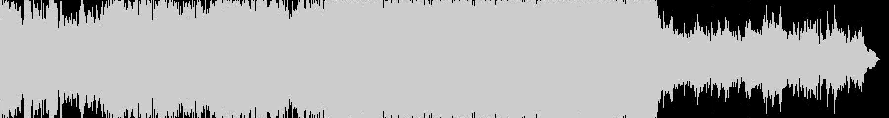 ダーク、戦争等重いイメージのオーケストラの未再生の波形