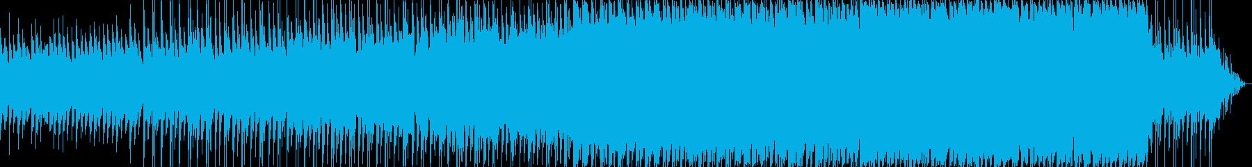 優しく包み込むようなテクノポップバラードの再生済みの波形