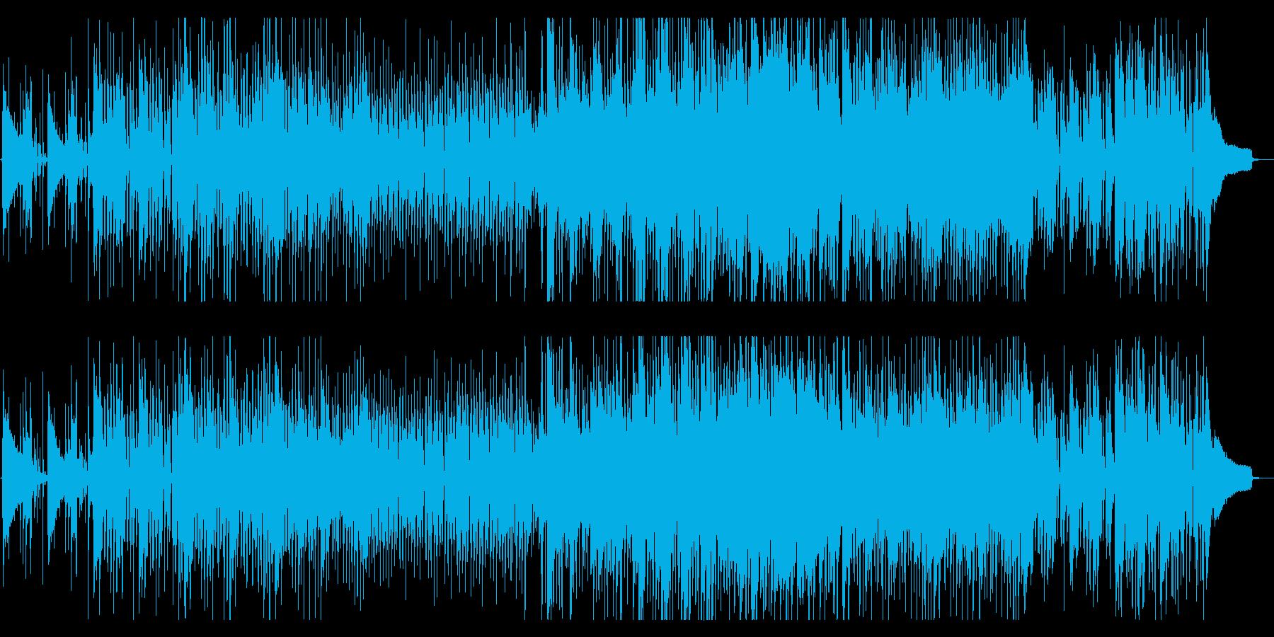 【アニメ劇伴】寒い冬を賑やかにする日常曲の再生済みの波形