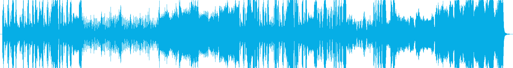 重く、壮大、テンポが遅いオーケストラ曲の再生済みの波形