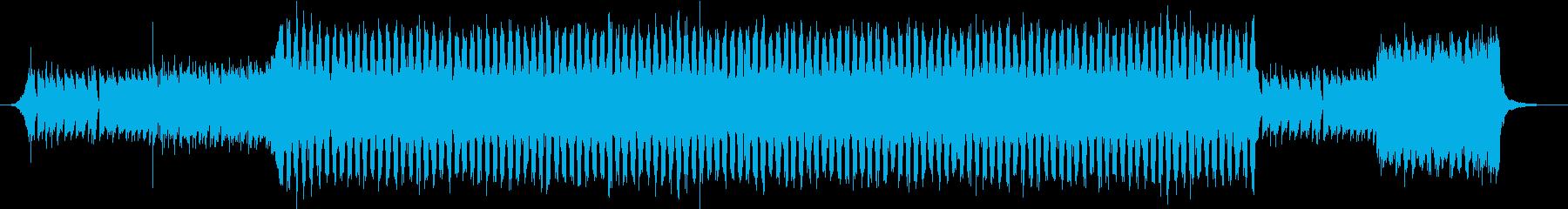 ジャジーなピアノおしゃれポップ4つ打ちdの再生済みの波形
