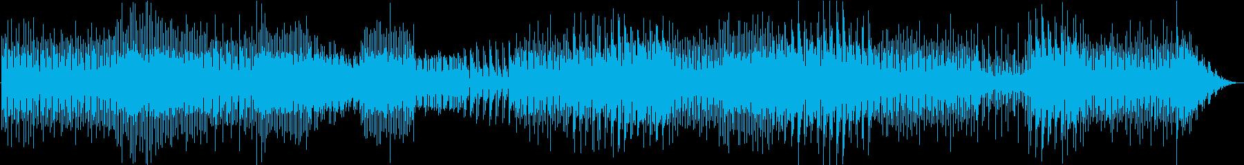 長尺-ダークで重たいテクノの再生済みの波形