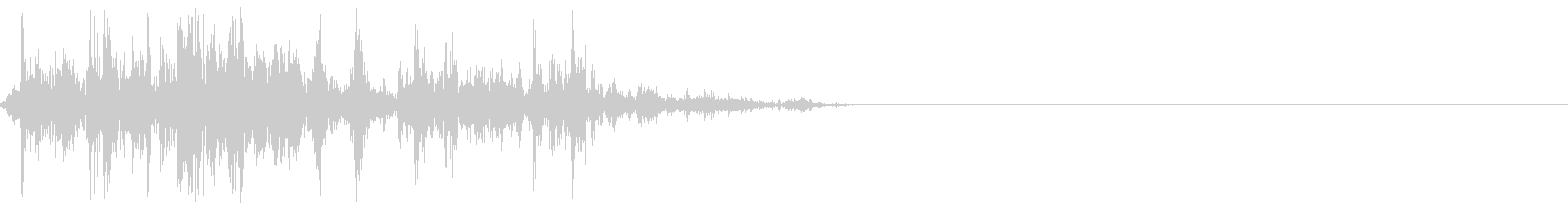 コイン(ジャラジャラ/チャリン/ガラガラの未再生の波形