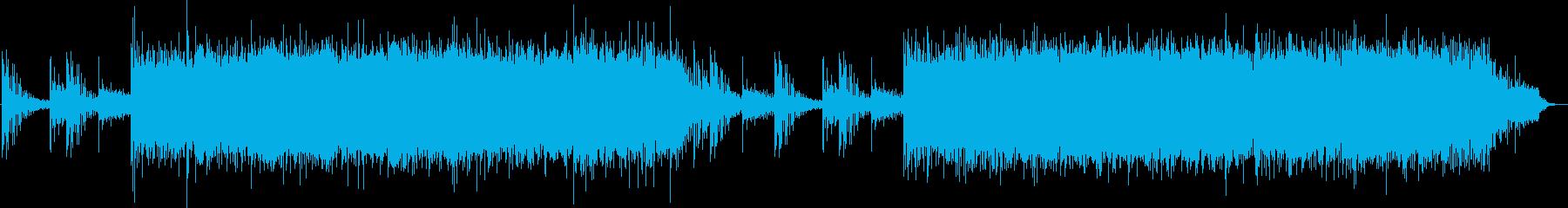 不思議なスローエレクトロニカの再生済みの波形