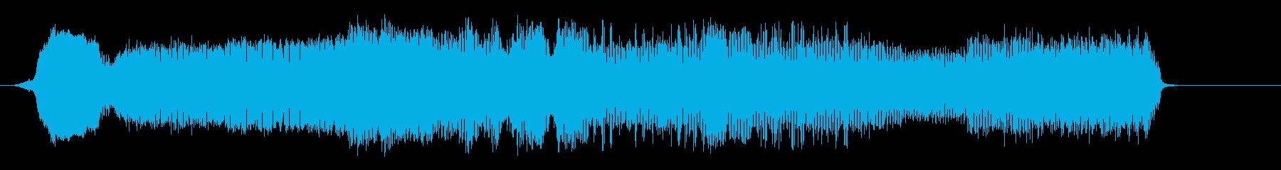 ゴム風船:スクリーチングエアリリー...の再生済みの波形