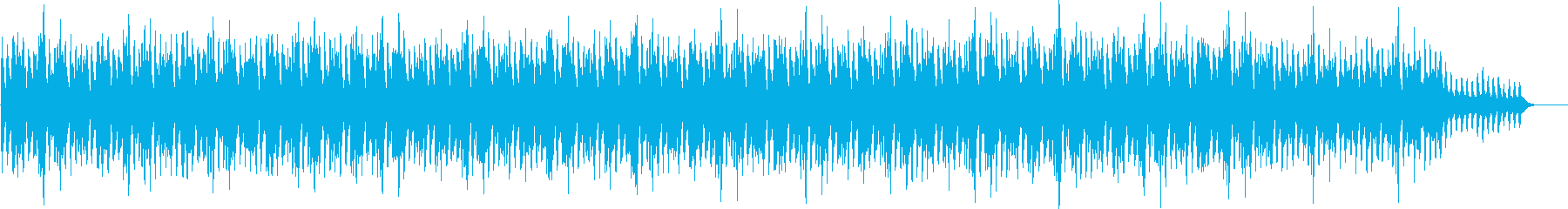 A calming song with a nice violin tone's reproduced waveform