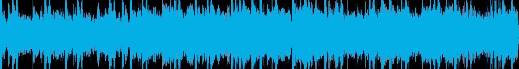 寒い時期にぴったりな哀れ感じる電子音楽の再生済みの波形