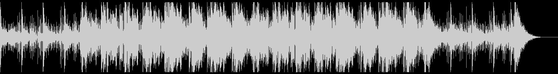 スリリングなスローアンビエントの未再生の波形