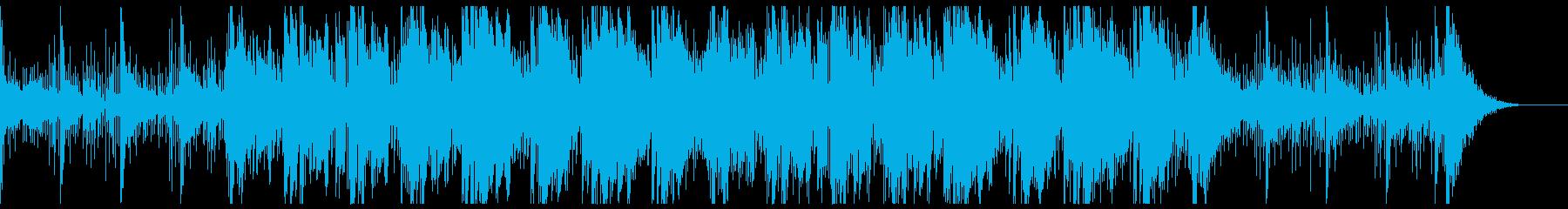 スリリングなスローアンビエントの再生済みの波形