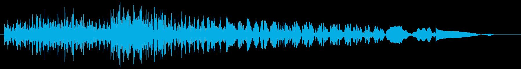 タラランタン(発見した音)の再生済みの波形